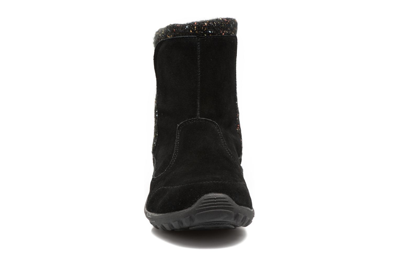 Bottines et boots Skechers Reggae Fest Folksy Noir vue portées chaussures