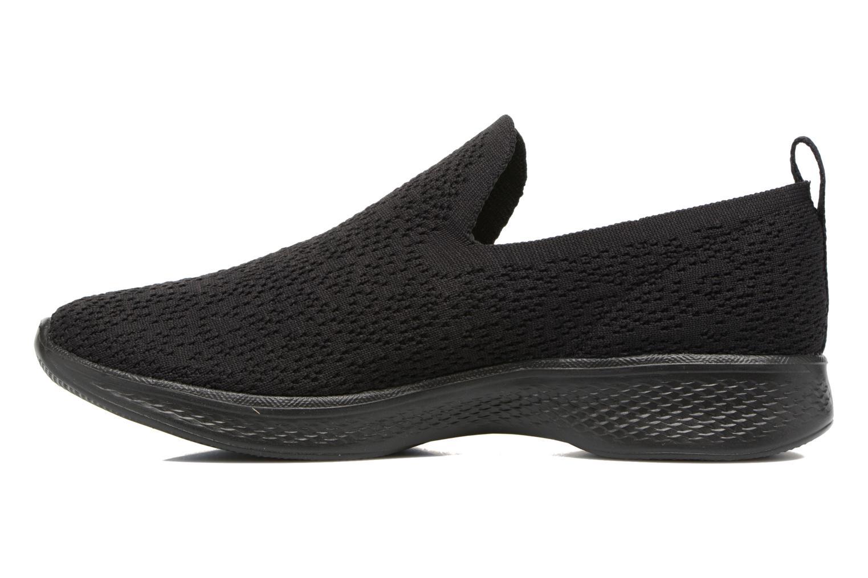 Chaussures de sport Skechers Go walk 4 gifted Noir vue face