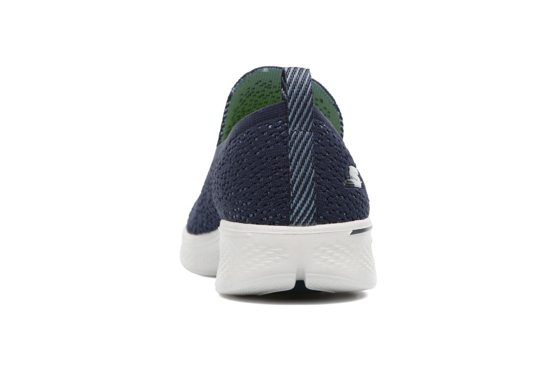 Chaussures de sport Skechers Go walk 4 gifted Bleu vue droite