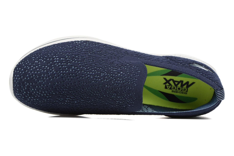 Zapatillas de deporte Skechers Go walk 4 gifted Azul vista lateral izquierda