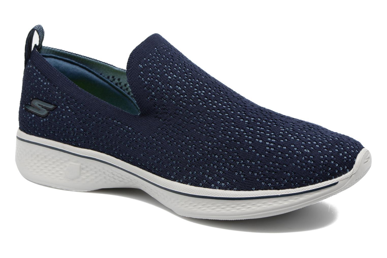 Zapatillas de deporte Skechers Go walk 4 gifted Azul vista de detalle / par