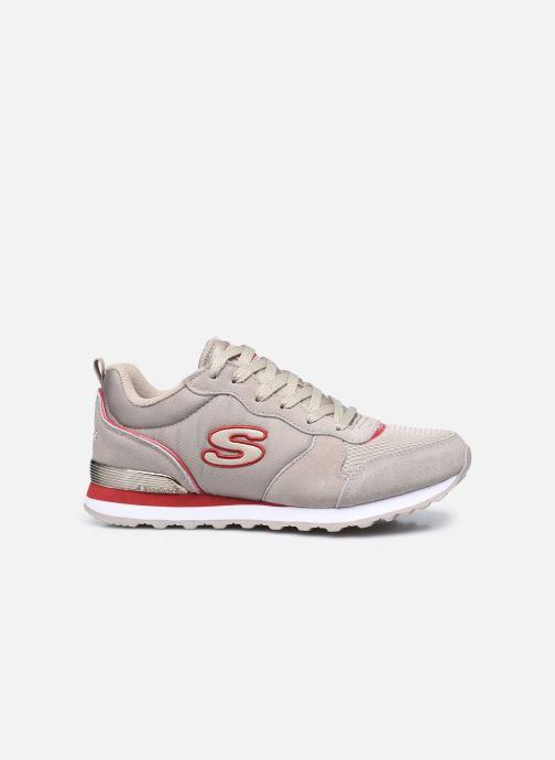 Sneaker Skechers OG 85 W grau ansicht von hinten