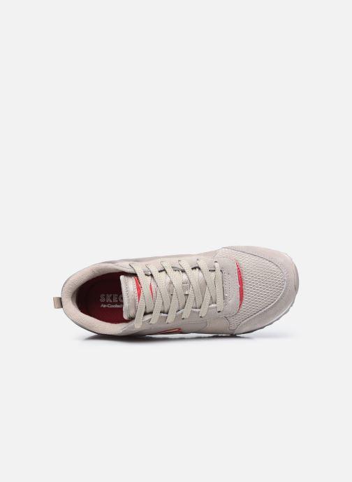 Sneaker Skechers OG 85 W grau ansicht von links