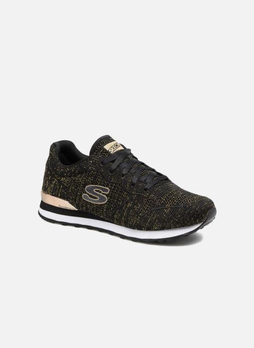 Sneakers Skechers OG 85 Low Flyers Zwart detail