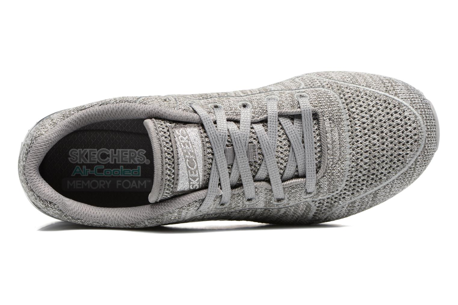Sneaker Skechers OG 85 Low Flyers grau ansicht von links
