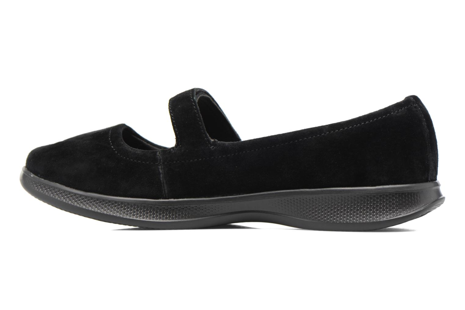 Ballerines Skechers Go Step lite quaint1 Noir vue face