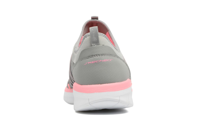 Zapatillas de deporte Skechers Synergy 2.0 Simply Chic Gris vista lateral derecha