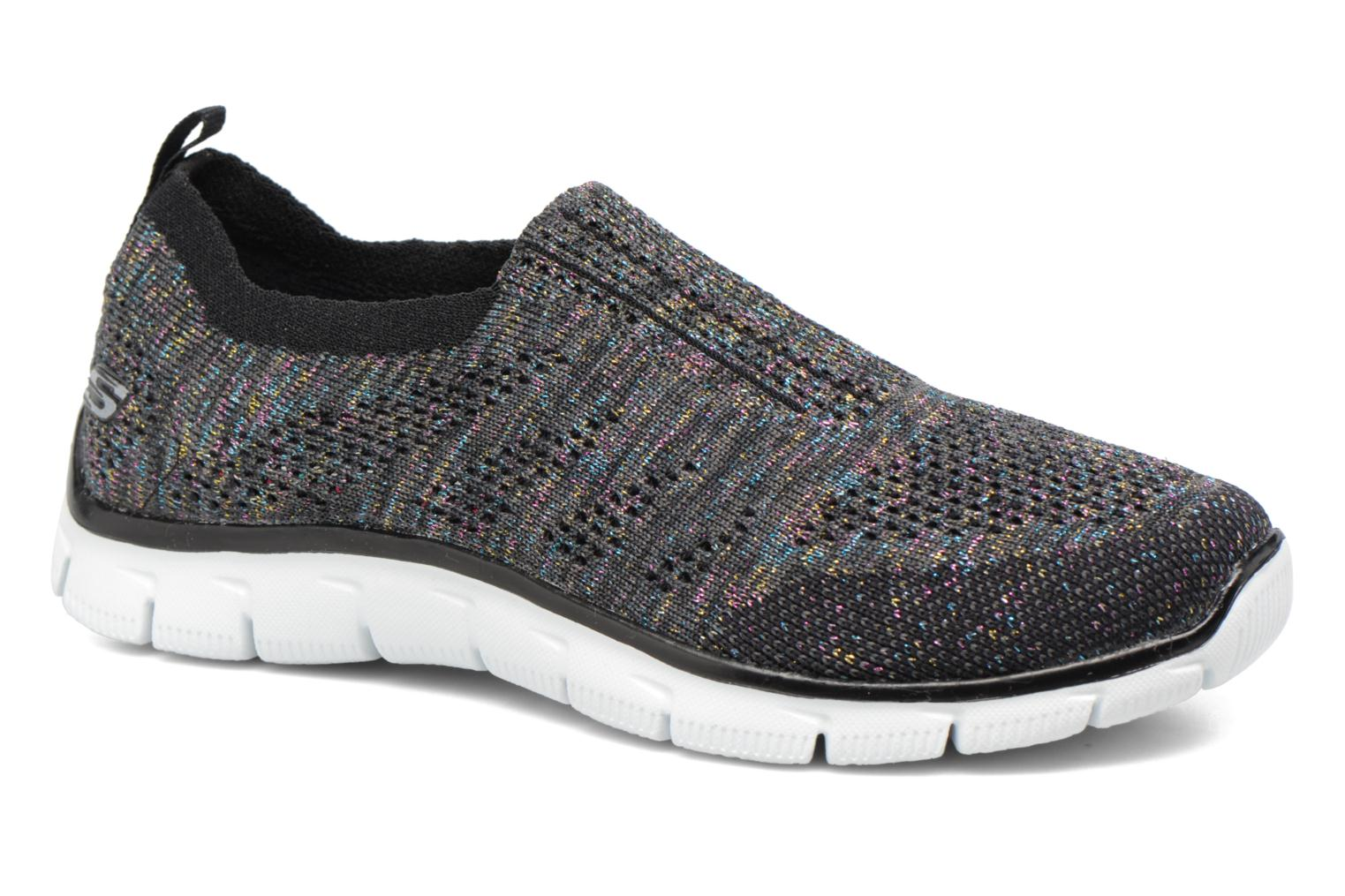 Baskets Skechers Empire round up Noir vue détail/paire