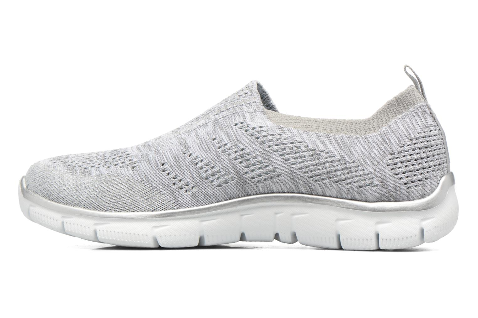 Baskets Skechers Empire round up Gris vue face