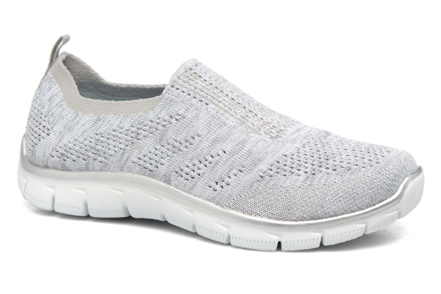 Baskets Skechers Empire round up Gris vue détail/paire