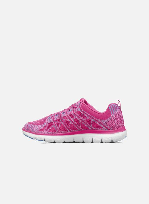 Sport shoes Skechers Flex Appeal 2.0 New Gem Pink front view