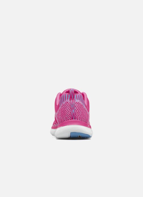 Sport shoes Skechers Flex Appeal 2.0 New Gem Pink view from the right