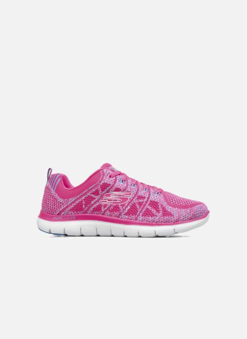 Sport shoes Skechers Flex Appeal 2.0 New Gem Pink back view