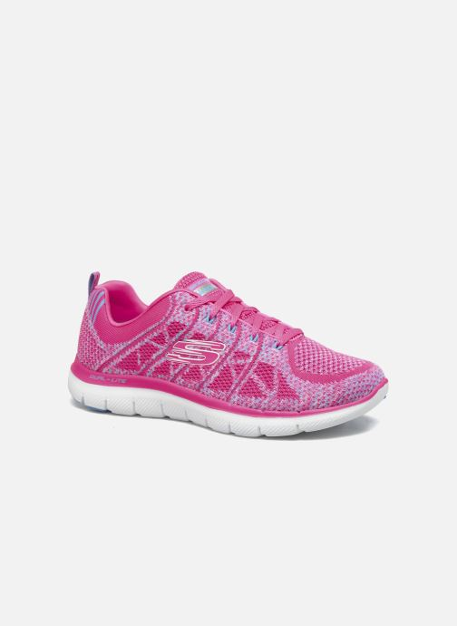 Sport shoes Skechers Flex Appeal 2.0 New Gem Pink detailed view/ Pair view