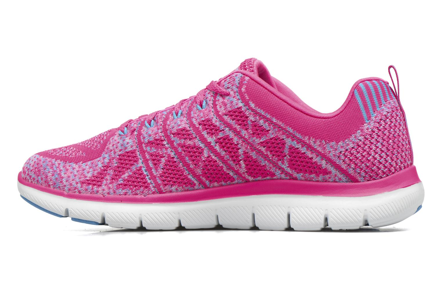 Zapatillas de deporte Skechers Flex Appeal 2.0 New Gem Rosa vista de frente