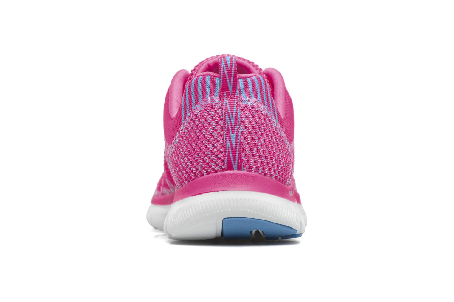 Zapatillas de deporte Skechers Flex Appeal 2.0 New Gem Rosa vista lateral derecha