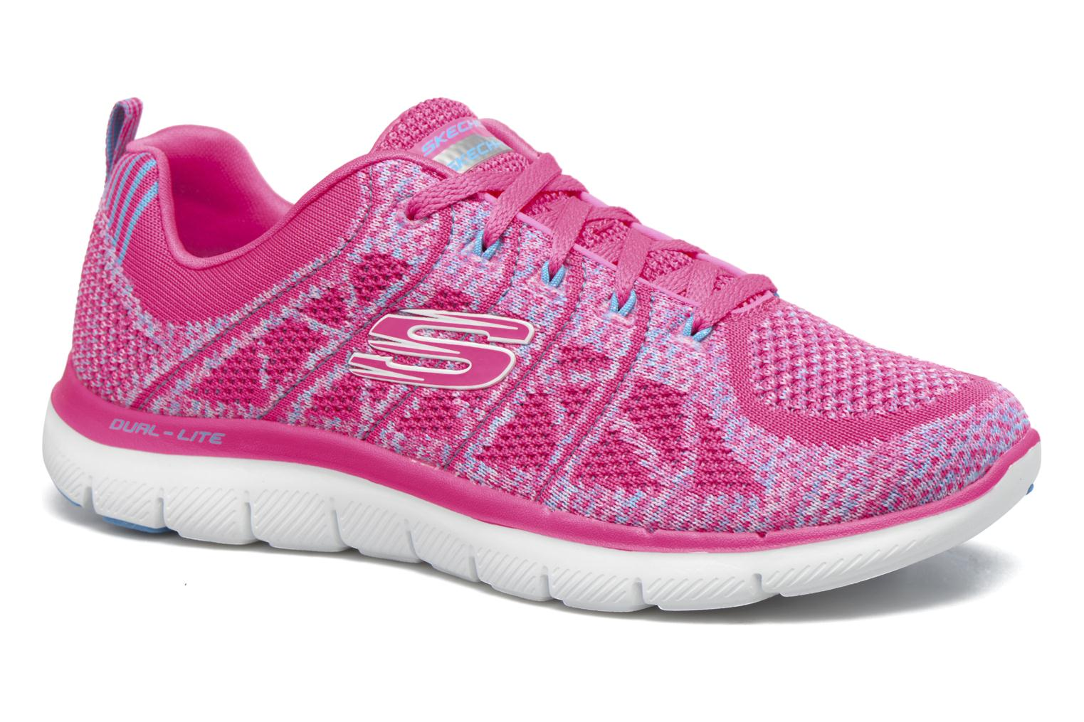 Zapatillas de deporte Skechers Flex Appeal 2.0 New Gem Rosa vista de detalle / par