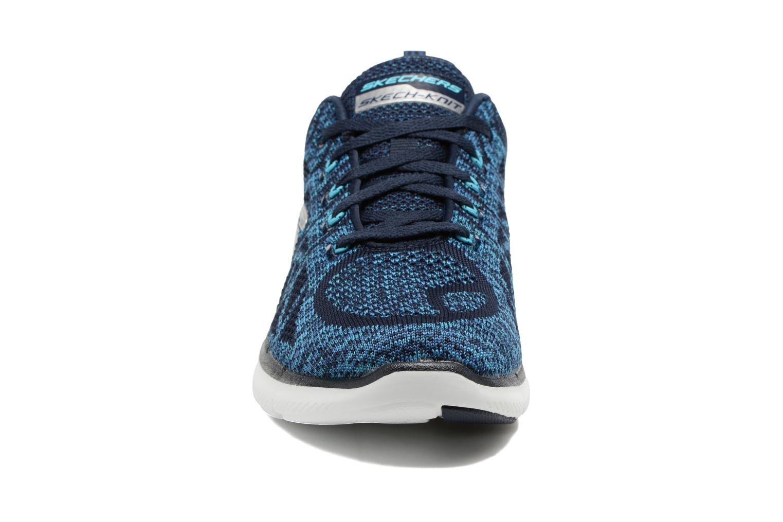 Zapatillas de deporte Skechers Flex Appeal 2.0 New Gem Azul vista del modelo