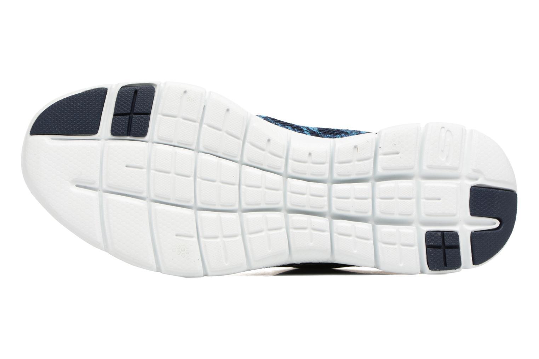 Zapatillas de deporte Skechers Flex Appeal 2.0 New Gem Azul vista de arriba