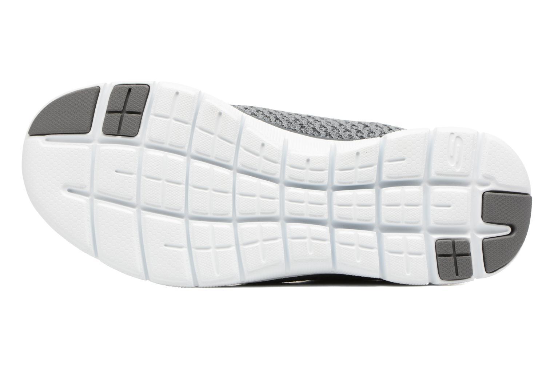 Chaussures de sport Skechers Flex Appeal 2.0 Bold Move Gris vue haut