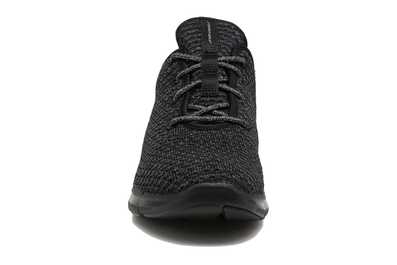 Chaussures de sport Skechers Flex Appeal 2.0 Bold Move Gris vue portées chaussures