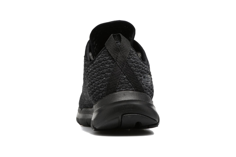 Chaussures de sport Skechers Flex Appeal 2.0 Bold Move Gris vue droite