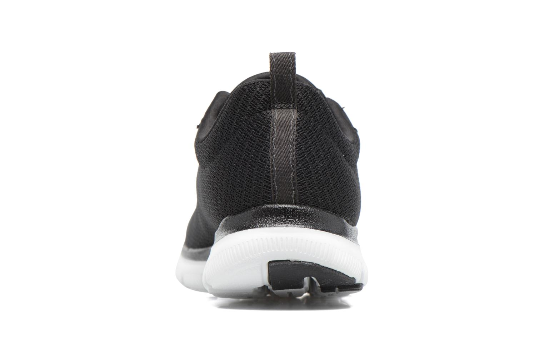 Zapatillas de deporte Skechers Flex Appeal 2.0 Newsmaker Negro vista lateral derecha