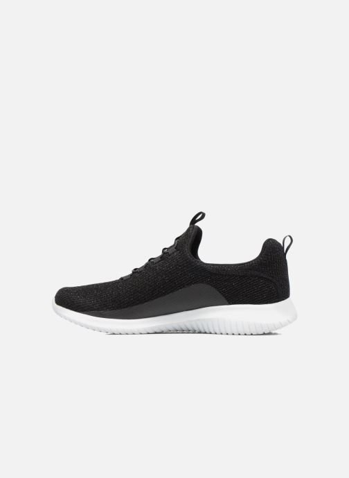 Chaussures de sport Skechers Ultra Flex Noir vue face