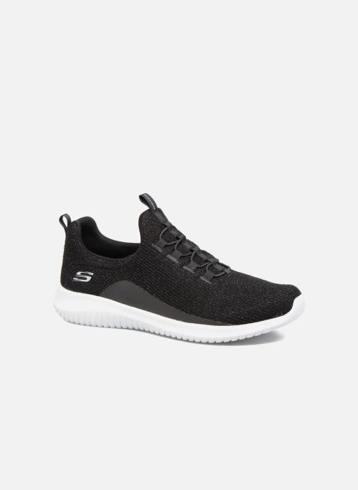 Chaussures de sport Skechers Ultra Flex Noir vue détail/paire