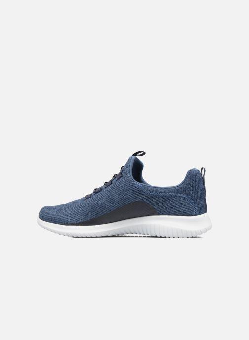 Zapatillas de deporte Skechers Ultra Flex Azul vista de frente