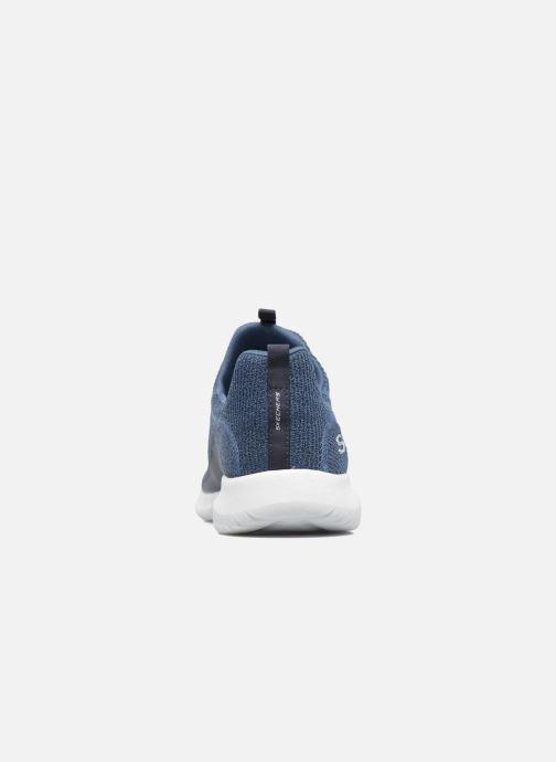 Zapatillas de deporte Skechers Ultra Flex Azul vista lateral derecha