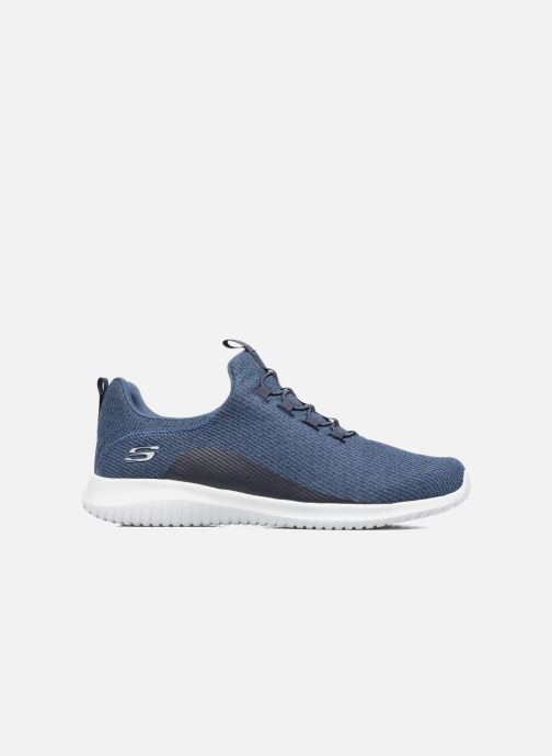 Sport shoes Skechers Ultra Flex Blue back view