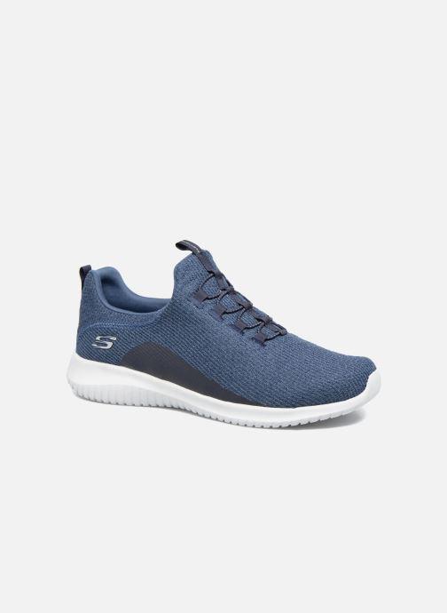 Sport shoes Skechers Ultra Flex Blue detailed view/ Pair view