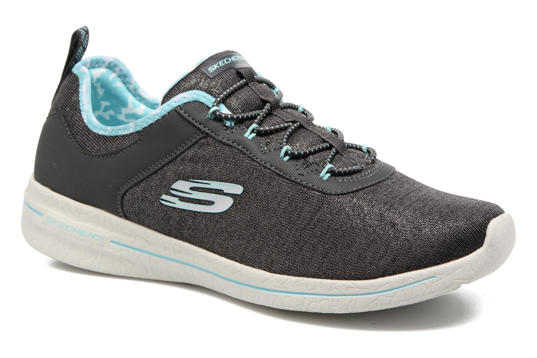 Sportssko Skechers Burst 2.0 Sunny Side Grå detaljeret billede af skoene