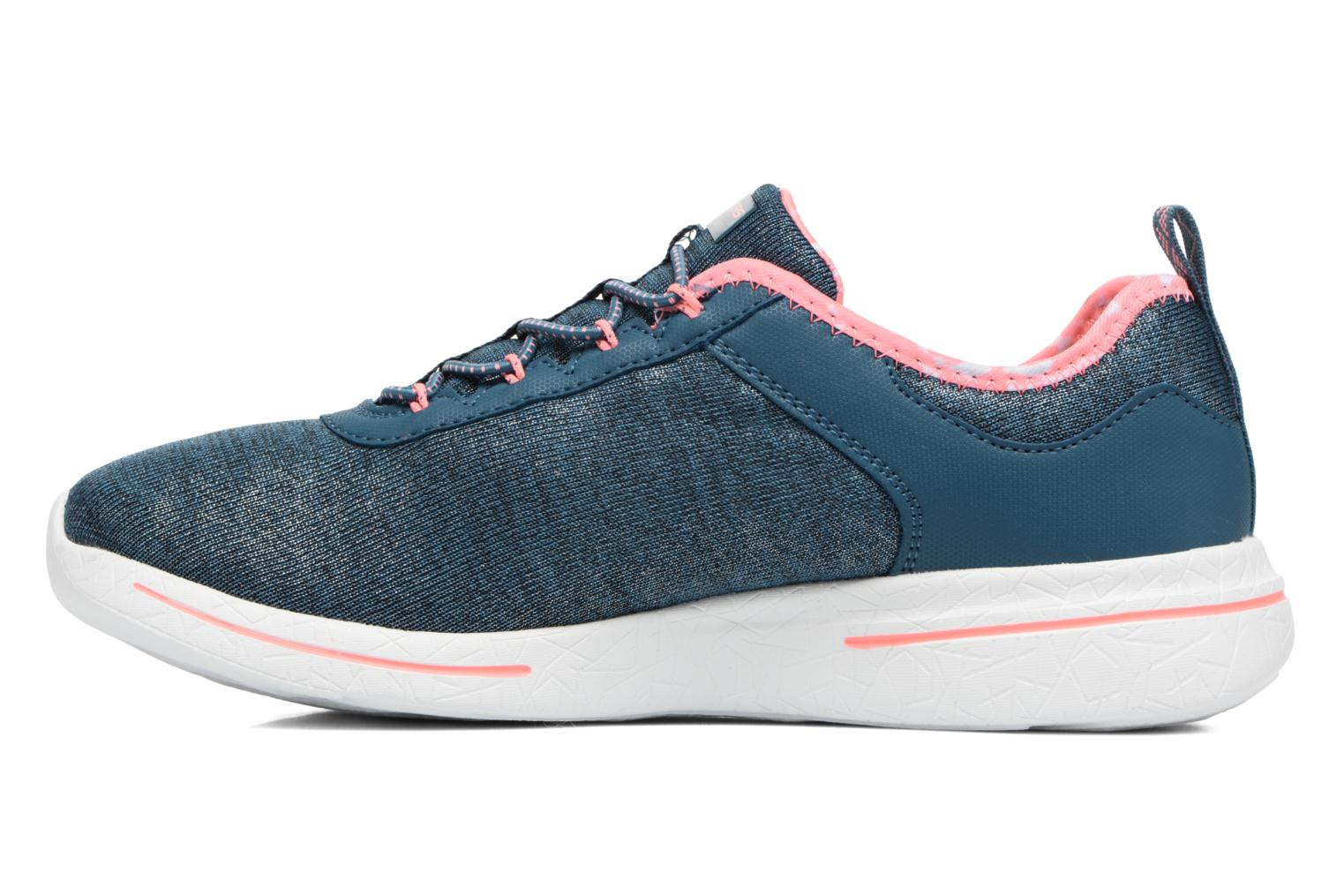 Sport shoes Skechers Burst 2.0 Sunny Side Blue front view