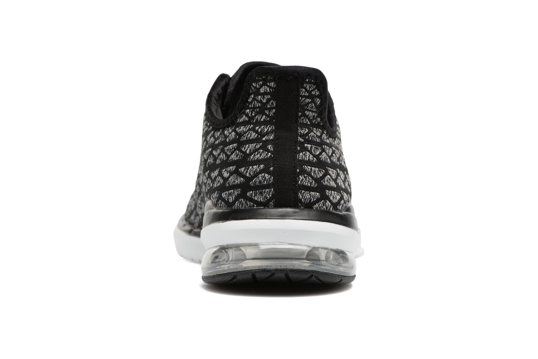 Chaussures de sport Skechers Skech-Air infinity Free fallin Noir vue droite
