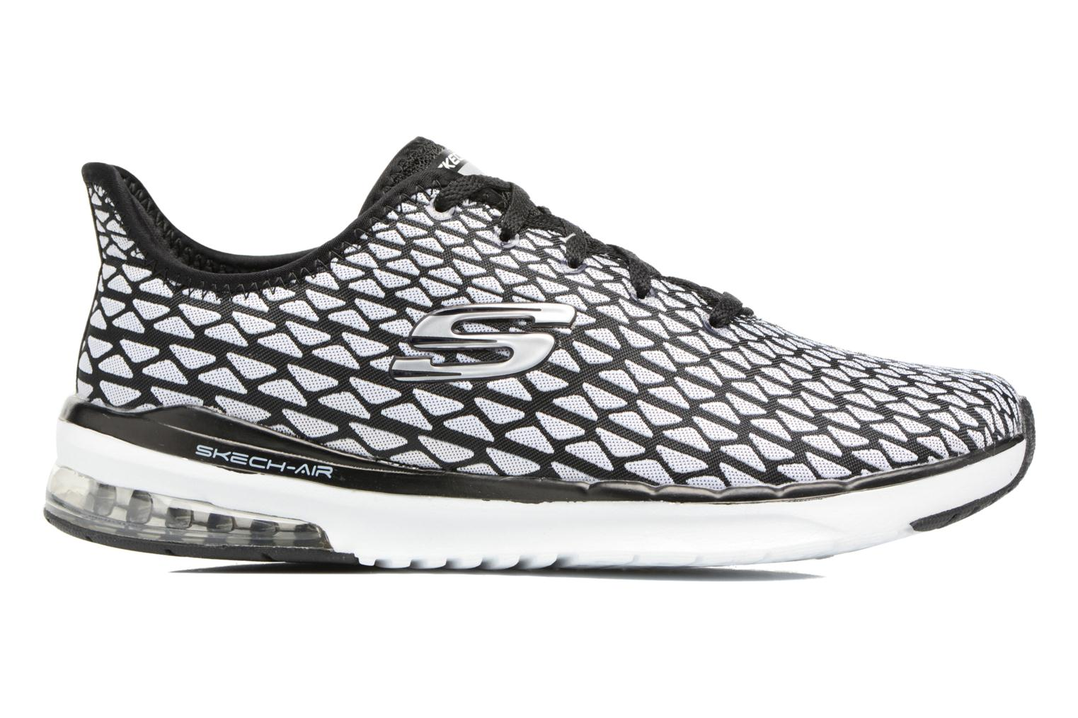 Sport shoes Skechers Skech-Air infinity Free fallin Black back view