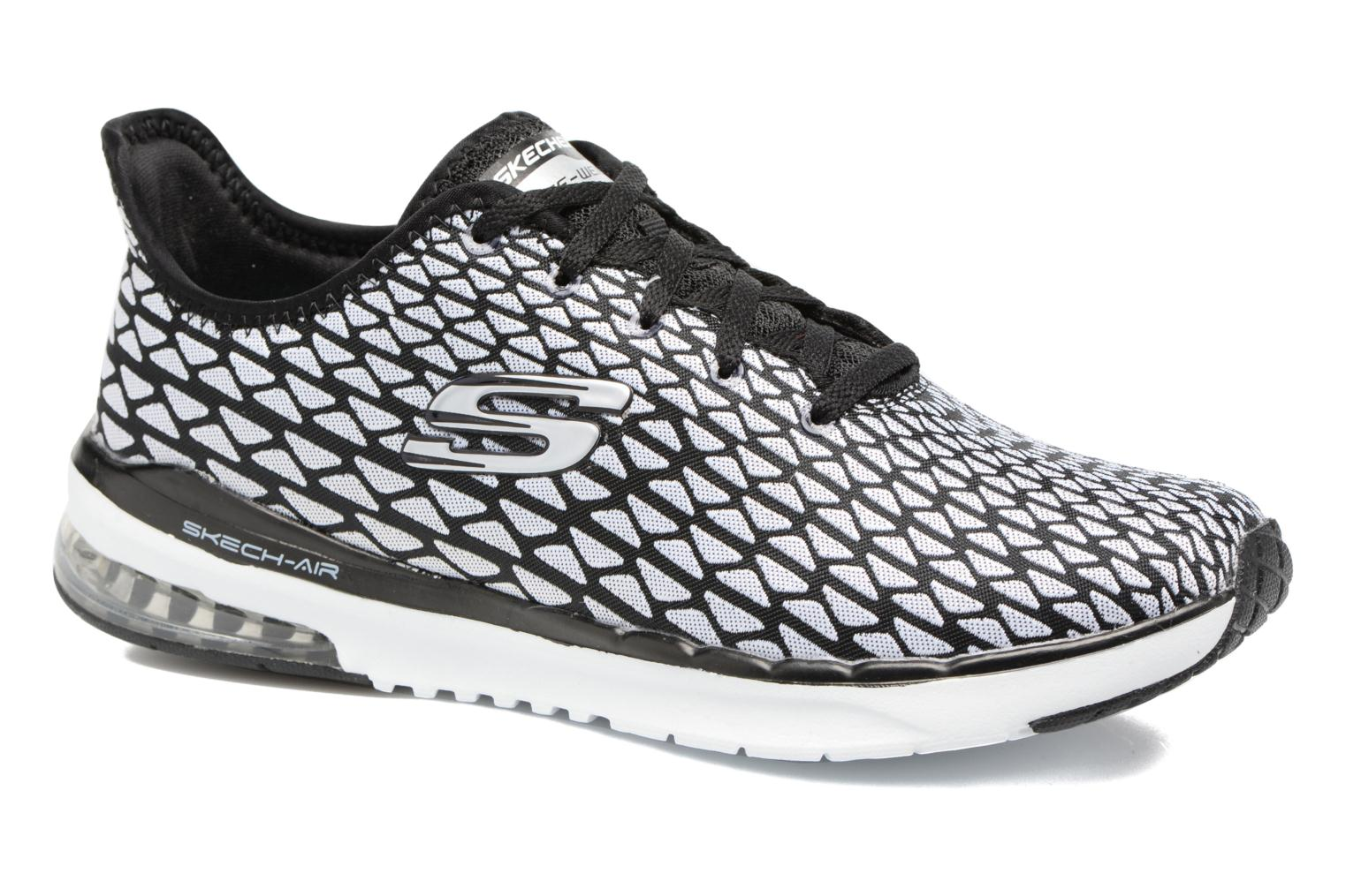 Sport shoes Skechers Skech-Air infinity Free fallin Black detailed view/ Pair view