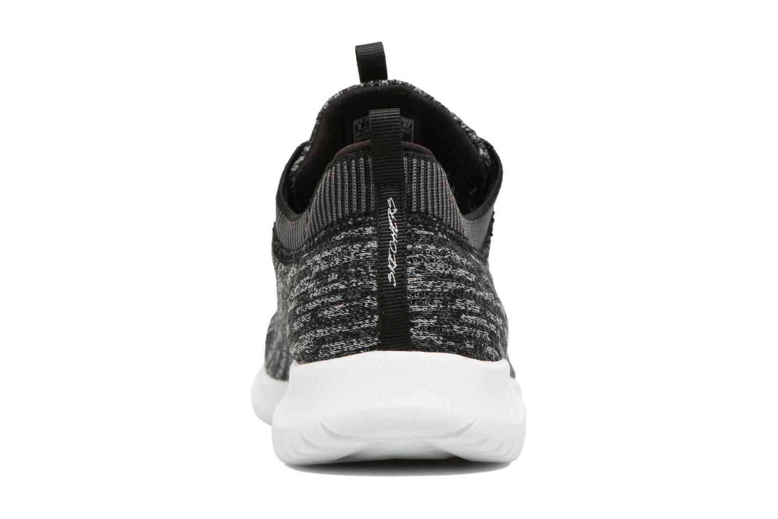 Sport shoes Skechers Ultra Flex Bright Horizon Grey view from the right