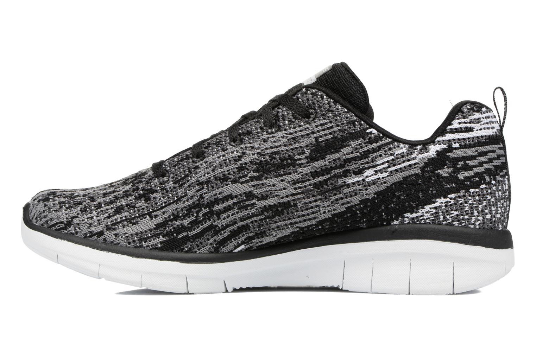 Chaussures de sport Skechers Synergy 2.0 High Spirits Gris vue face