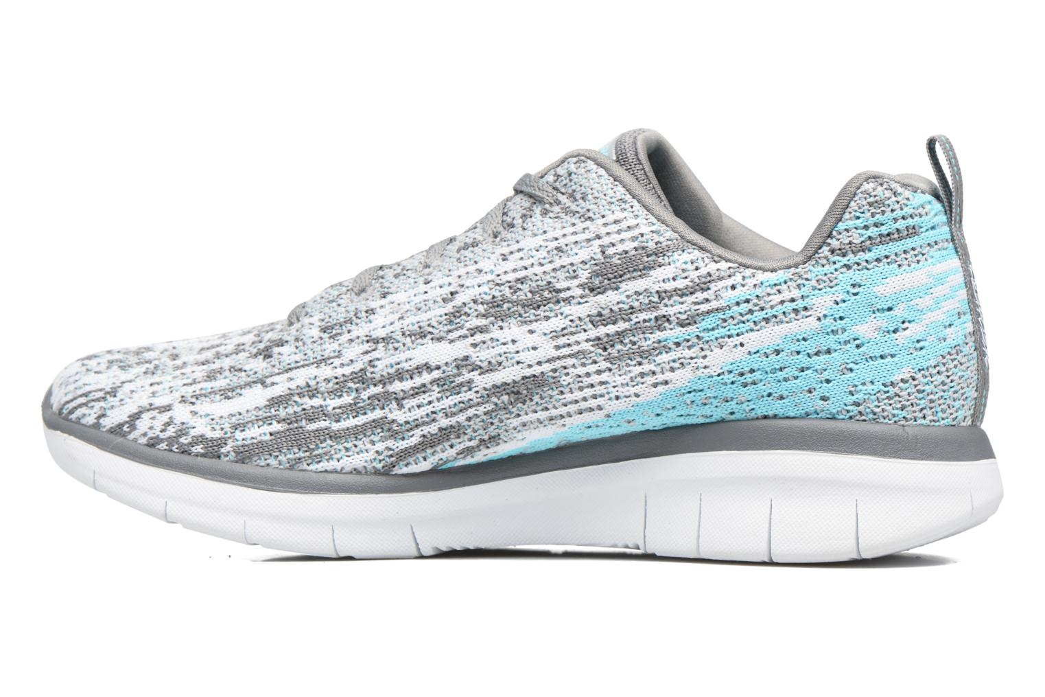 Sport shoes Skechers Synergy 2.0 High Spirits Grey front view