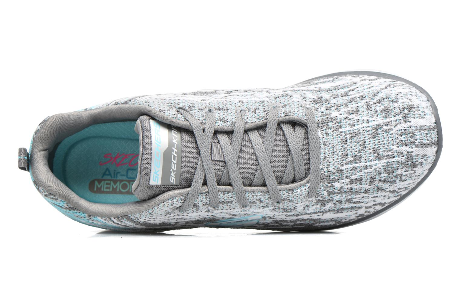 Sport shoes Skechers Synergy 2.0 High Spirits Grey view from the left