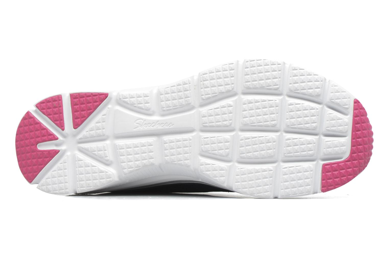 Chaussures de sport Skechers Fashion Fit Statement Piece Bleu vue haut