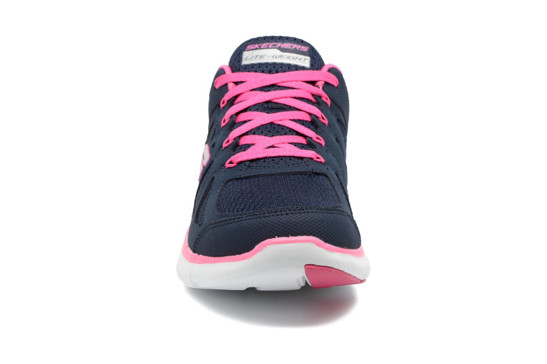 Zapatillas de deporte Skechers Flex Appeal 2.0 Simplistic Azul vista del modelo
