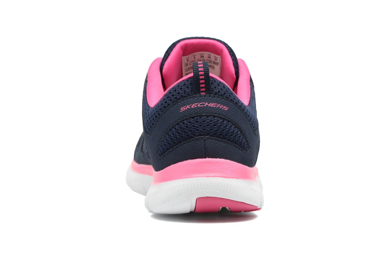 Zapatillas de deporte Skechers Flex Appeal 2.0 Simplistic Azul vista lateral derecha