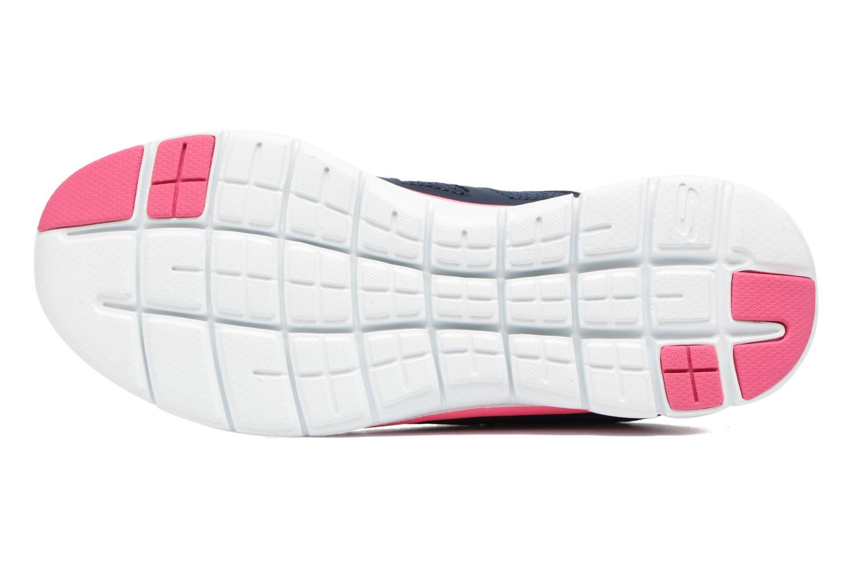 Zapatillas de deporte Skechers Flex Appeal 2.0 Simplistic Azul vista de arriba