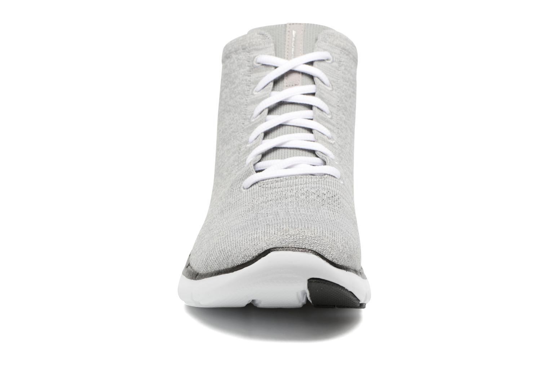 Baskets Skechers Flex Appeal 2.0 in Code Gris vue portées chaussures