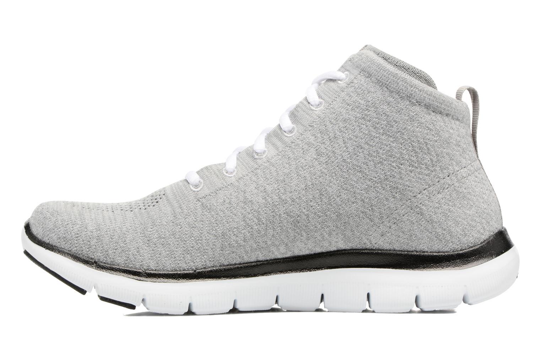 Sneakers Skechers Flex Appeal 2.0 in Code Grå se forfra