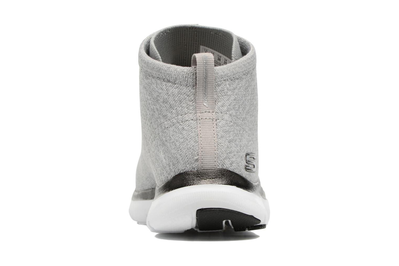 Baskets Skechers Flex Appeal 2.0 in Code Gris vue droite