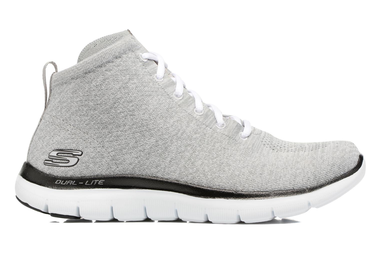 Sneakers Skechers Flex Appeal 2.0 in Code Grå se bagfra